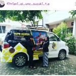 Foto Penyerahan Unit 4 Sales Marketing Mobil Dealer Suzuki Fitriani Al